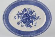 Churchill - Out Of The Blue - Oval Plate / Platter - 12 1/4""