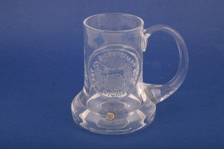 Dartington  - Miscellaneous Drinking - Tankard - Glassware - Commemorative - Derby Bicentenary
