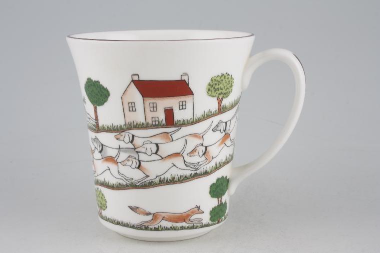 No obligation search for Coalport - Hunting Scene - Mug