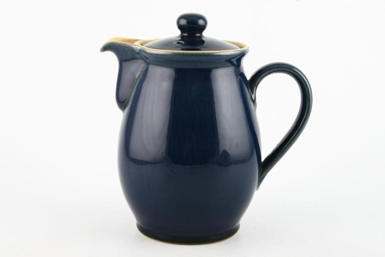Denby - Cottage Blue - Coffee Pot  - barrel shape