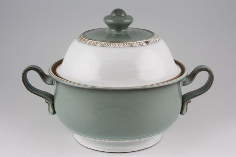 Denby - Venice - Casserole Dish + Lid - footed - 2 handles