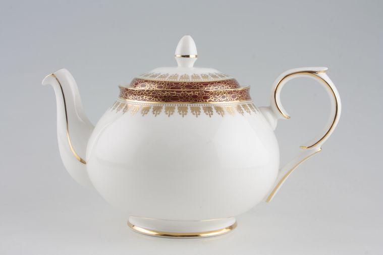 Duchess - Winchester - Burgundy - Teapot - Round handle
