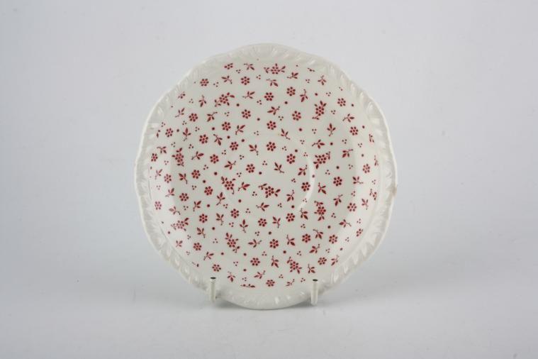 Adams - Sprig - Pink - Tea Saucer