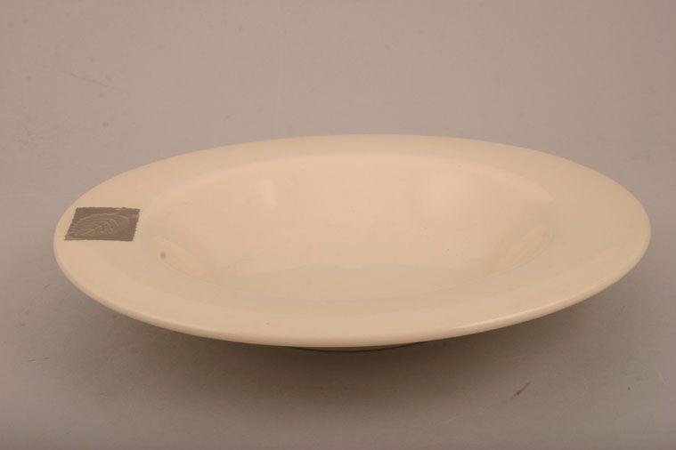 Hornsea - Silver Leaf - Bowl - Rimmed
