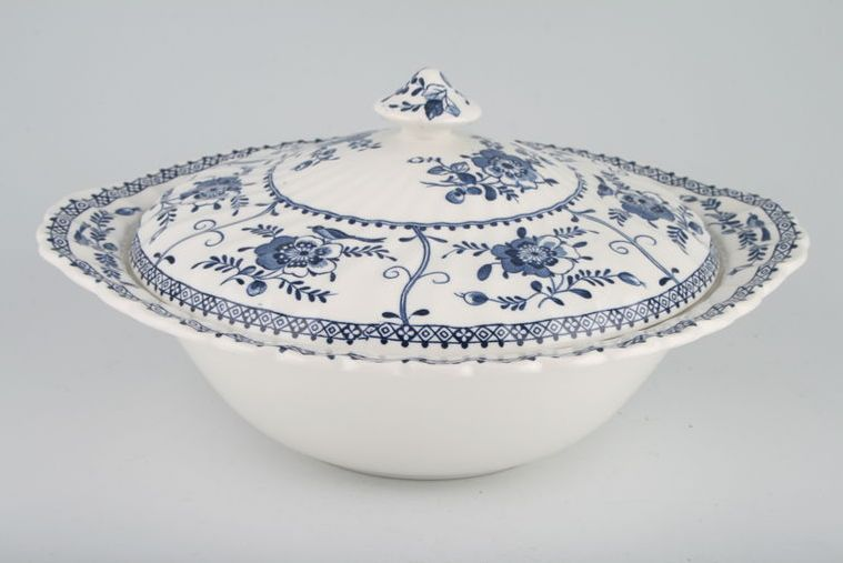 Johnson Brothers - Indies - Vegetable Tureen with Lid