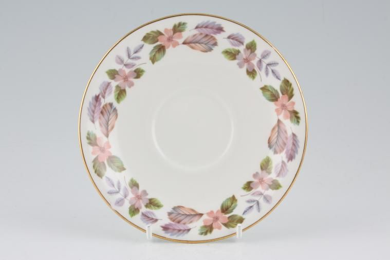 Aynsley - April Rose - Straight Edge - Tea Saucer