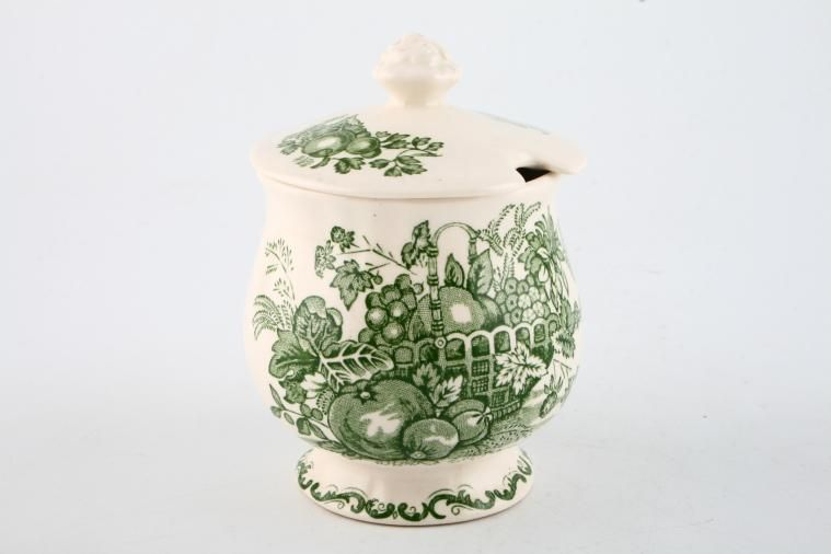 Masons - Fruit Basket - Green - Jam Pot + Lid - with snip