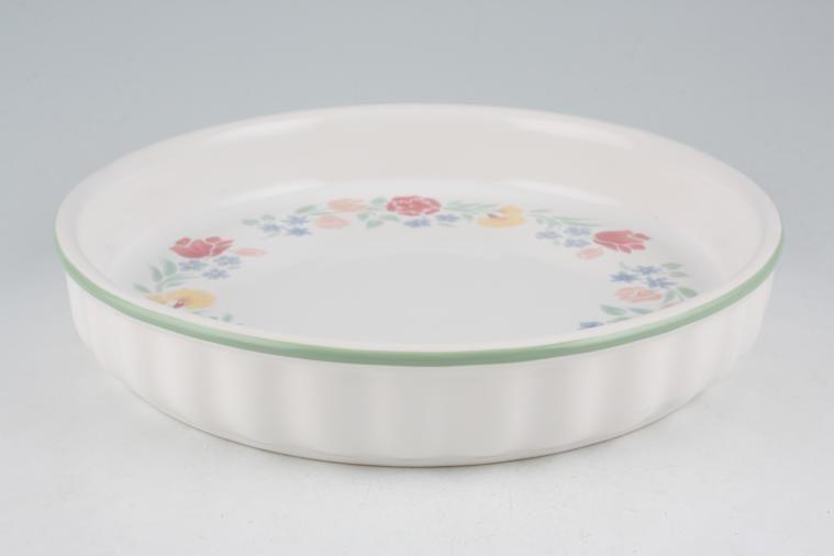 BHS - Floral Garden - Flan Dish