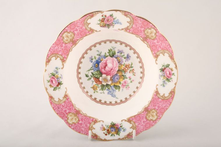 Royal Albert - Lady Carlyle - Rimmed Bowl - Rimmed soup