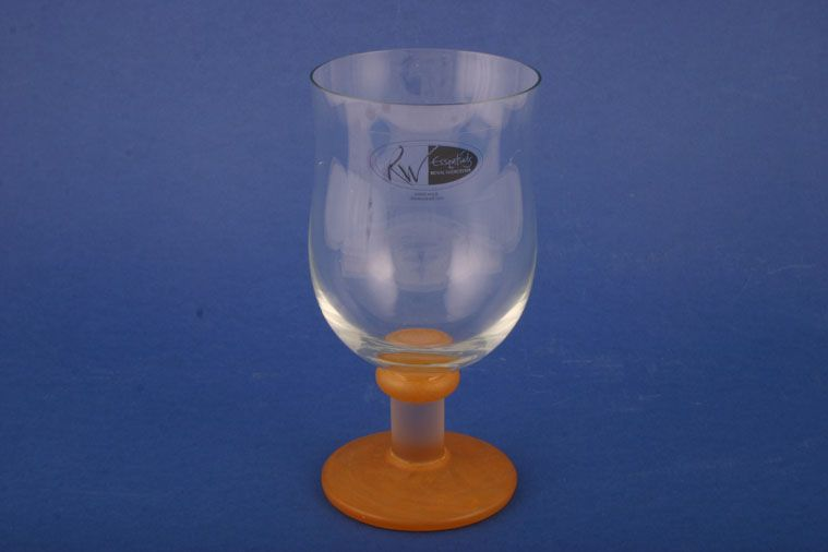 Royal Worcester - Sienna - Essentials by Dartington - Glass Goblet