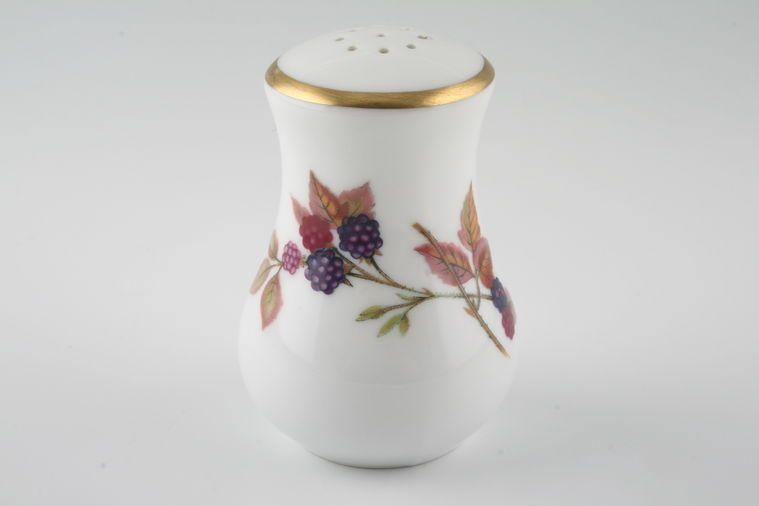 Royal Worcester - Evesham - Gold Edge - Pepper Pot - 9 holes