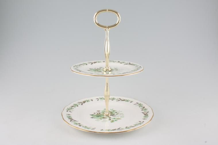 Various - Cake Stands - Cake Stand - 107 - Colclough - Sedgeley 8 1/4