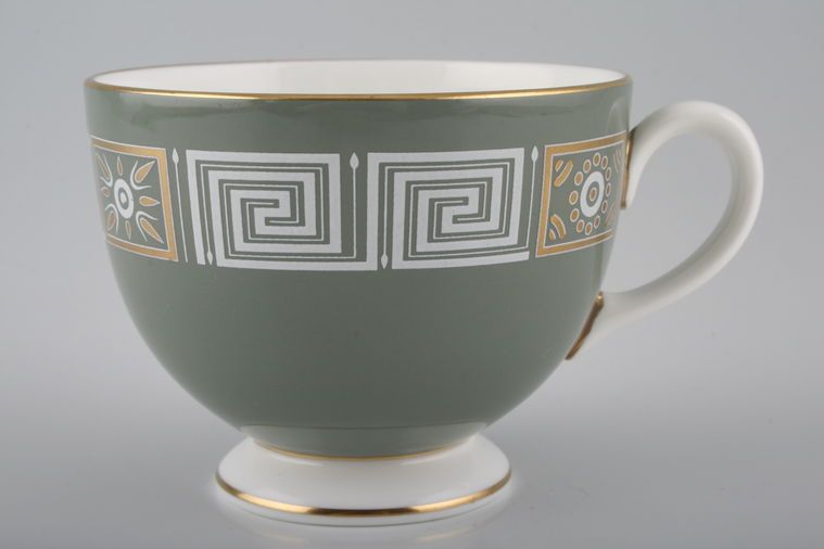 Wedgwood - Asia - Sage Green with Gold - Teacup - Leigh